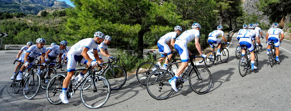 Team Novo Nordisk -  world's first all-diabetes professional cycling team